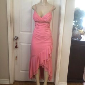 Party dress in a Peach color